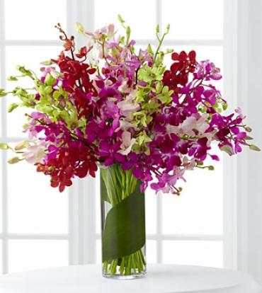 Luminous Luxury Orchid Bouquet