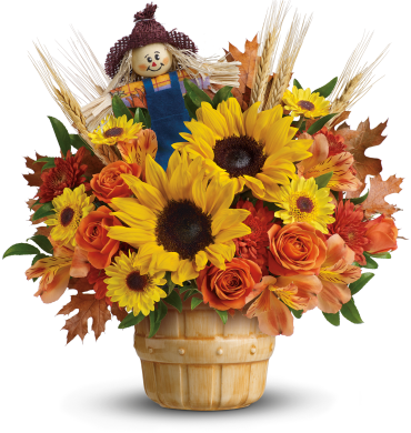 Smiling Scarecrow Bouquet