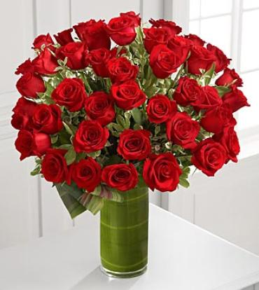 Fate Luxury Rose Bouquet - 48 Stems of 24-inch Premium Long-Stem
