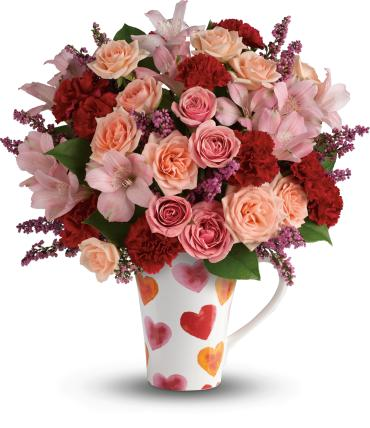 Lovely Hearts Bouquet